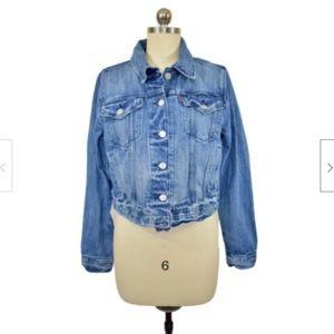 Levi's Womens Jean Jacket Size Large